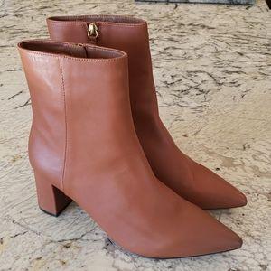 J.crew Sadie boots leather brown ab129 heels